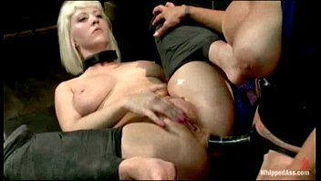 Felony adult actress Cherry torn is spanked, caned and is hungry for wet pussy when felony punishes a