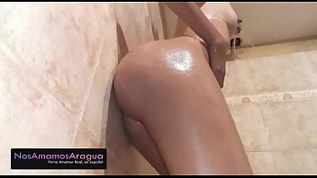 Perfect Ass Latin Teen Shower Spy
