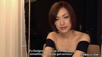 Nanako Haruna has never seen a non- Asian dick before thumbnail