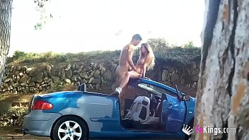 SPECTACULAR 19yo teen gets picked up in the street