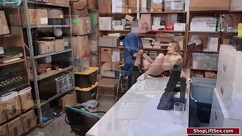 19yo babe dominated by an horny officer