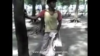 Indian Showing Lungi desi