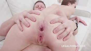 Stasia Si First Time DP with Balls Deep Action, Gapes and Cum in mouth GL118