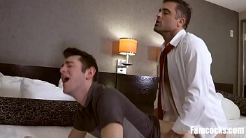 Stressed out DAD, Unwinds Into Sons ASS- GAY FAMILY