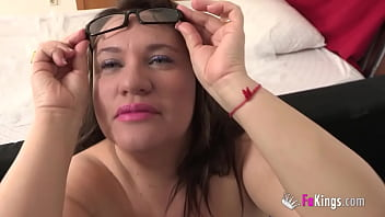 INSATIABLE: BBW MILF wants a giant cock up her ass!!