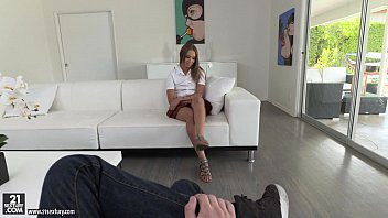 Leggy teen Liza Rowe on huge dick - Liza Rowe, Buddy Hollywood
