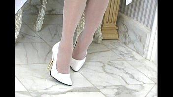 Charmane Starr white lingerie thumbnail