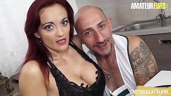 AMATEUR EURO - Italian MILF Mary Rider Feeds Her Horny Holes With Big Cock