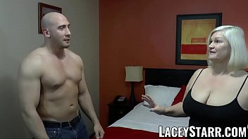 LACEYSTARR - GILF seduces big dicked hunk into hard pounding Thumb