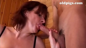 Authoritarian milf picks up a boy in a park for a good fuck preview image