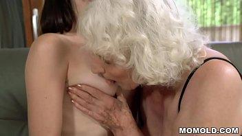 Old woman Norma and her younger lesbian friend Linda Love Vorschaubild