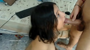 Thick Girl With Tats Gets Cum All Over Her Face ( Camgirlspower.com )
