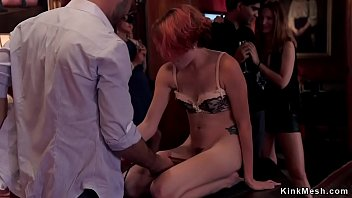Babes gangbang fuck in bdsm party