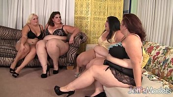 Becki Butterfly, Erin Green, Jade Rose, Lady Lynn plumper orgy video