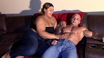 Daughter Sucks Daddy's Dick (Interracial)