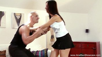 Raven Haired Beauty Intense Anal Sex