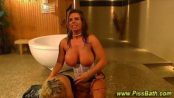 Golden shower fetish slut