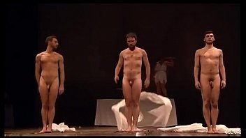 Nude gay art canvas Danza griega