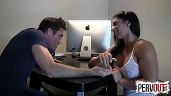 Arm Wrestling for Anal PEGGING LANCE HART ALEXIS RAIN Vorschaubild