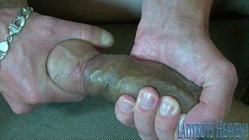 Ladyboy Foot Fetish and Fucking