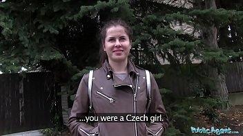 Public Agent Wet Russian Spreads Legs For Cash thumbnail