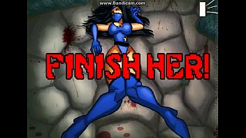 Finish her
