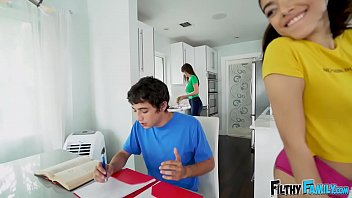 FILTHY FAMILY - Ricky Spanish's Threesome With Stepmom Lexi Luna and Step Sister Harmony Wonder thumbnail