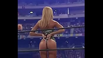 Stacy keibler sex stance - Stacy keibler gets spanked while showing her ass.