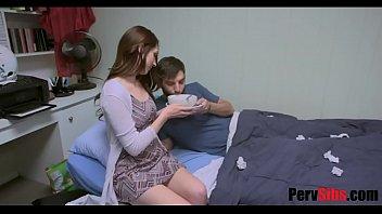 Sister takes care of sick bro's dick vixen porn