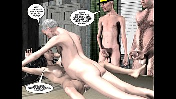 Adult comic blogs 3d comic: chaperone 2