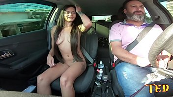 Today we have a student who will make her first adult movie on the ride from Ted # 25 - Sophi Moranguinho - Jhonny Gab