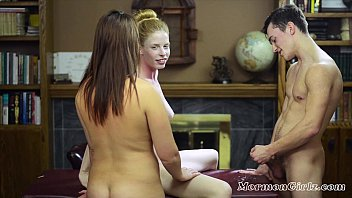 MormonGirlz: These Teens Fuck And Let A Mormon Missionary Watch.