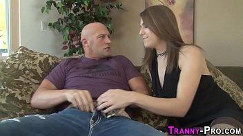 Transexual hooker guzzle