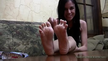I need a nice foot rub from my favorite slave