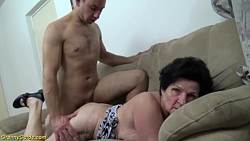 Hairy ugly woman Extreme hairy 86 years old mom needs a young dick