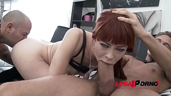 Redhead Alexa Nova - Super Slut anale e deepthroat prima volta Gonzo 2on1
