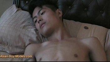 Big Cock Asian Twink Boy Jerk Off