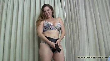 I will get you ready for a real black cock