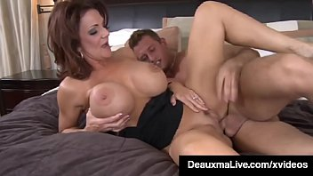 Hot brunnette fuck movies - Busty cougar mom deauxma sucks fucks young friends cock