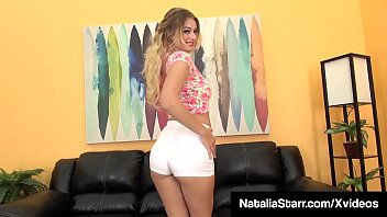 Panty Sniffing Slut Natalia Starr Dildo Bangs In High Heels!