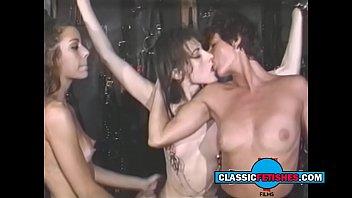 Vintage spick and span Spanking lesbian session