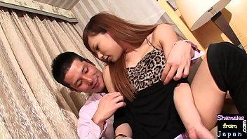 Beautiful ladyboy amateur gets pounded