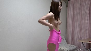 Sexy Slender Japanese is Getting Dressed