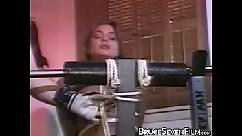 Young beauty moans while teased with whipping by stud