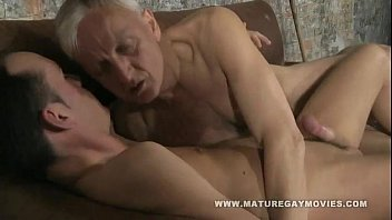 Hot mature gays - Hot young lad gets fucked by mature daddy