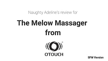 Special Sex Toy Review For The Melow Massager From Otouch By Naughty Adeline Sfw 6 Min