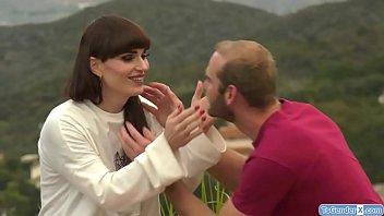 Ts bride Natalie Mars barebacked by guy
