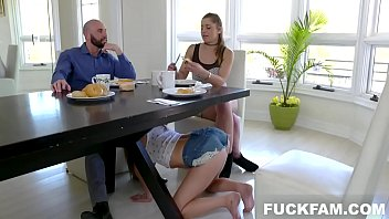 Athena Faris in Some Under The Table Footplay