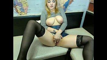big tit blde teases showing juicy tits -  - 69VClub.Com