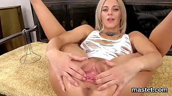 Master stretch her clit - Naughty czech kitten stretches her spread twat to the extreme